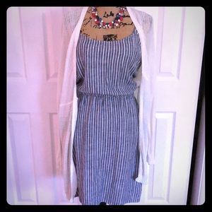 NWT Old Navy Summer Stripped Dress. Sz L